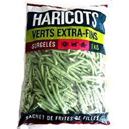 Haricots verts extra fins sachet 400g