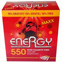 Maxx - tubes à cigarettes filtre