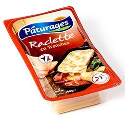 Fromage en tranches pour raclette