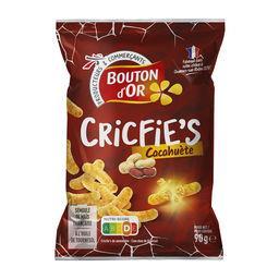 Cricfies - chips goût cacahuète
