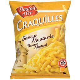 Biscuits apéritif Craquilles saveur moutarde