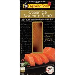 Le Sublime cœur de saumon fumé salé au sel sec