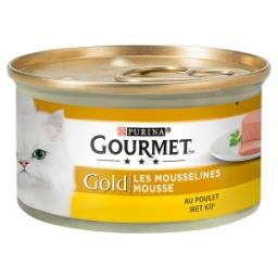 Gold Chat Mousseline Poulet 85 g