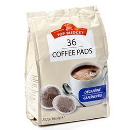 Café pads - décaféiné