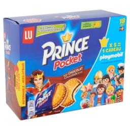 Prince pocket - biscuits au goût chocolat - 10x2 piè...