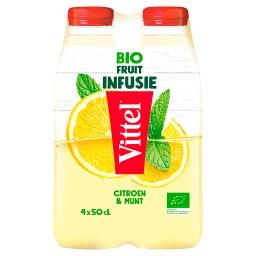 & Fruits Bio Infusés - Citron - Menthe