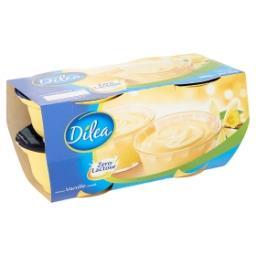 Zero lactose dessert lacté vanille