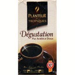 Dégustation, café pur arabica doux