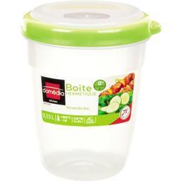 Kitchen - Boite hermétique ronde verte 0,55 L