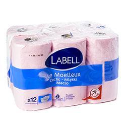 Papier toilette - le moelleux - 3 épaisseurs