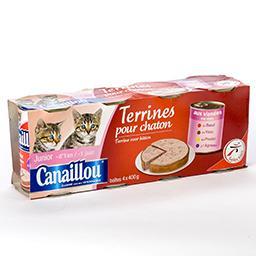 Terrines pour chatons - 4 variétés