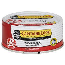 Thon blanc fraîcheur extra au naturel Label Rouge