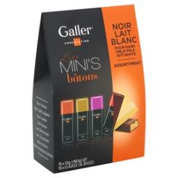 Mini's - assortiment de chocolat noir - lait - blanc