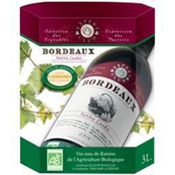 Bordeaux vin rouge bio expert club