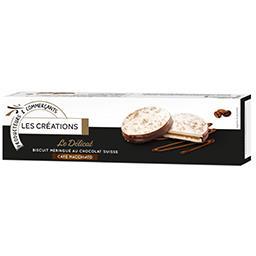 Le Délicat biscuit meringué chocolat suisse café Mac...