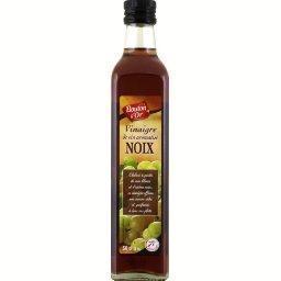Vinaigre de vin aromatisé aux noix