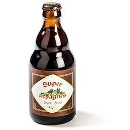 Bière brune belge artisanale
