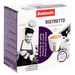 Café Ristretto Café Espresso 16 Doses de Café