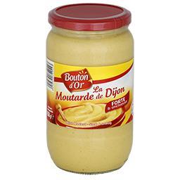 La moutarde de Dijon, au vinaigre, forte & onctueuse
