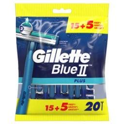 BlueII Plus Rasoirs Jetables Pour Homme 15+5