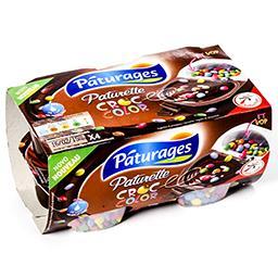 Paturette - croc color - crème dessert au chocolat e...
