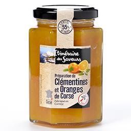 Préparation de clémentines et oranges de corse