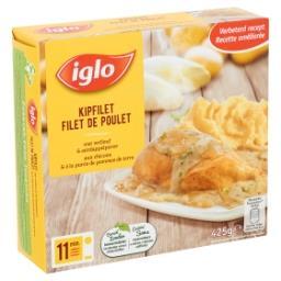 Filet de Poulet aux Chicons & à la Purée de Pommes d...