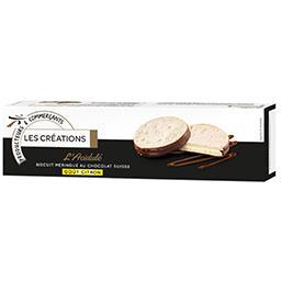 L'Acidulé Biscuit meringué au chocolat suisse goût c...