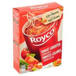 Minute soup - tomates légumes vermicelles