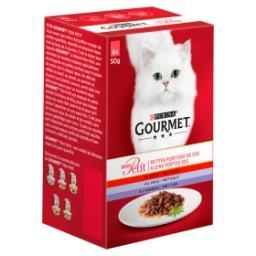 Gourmet - mon petit - aliment pour chat - au boeuf -...