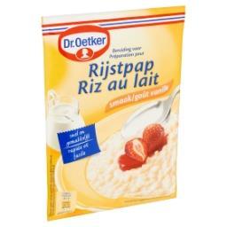 Préparation pour riz au lait goût vanille