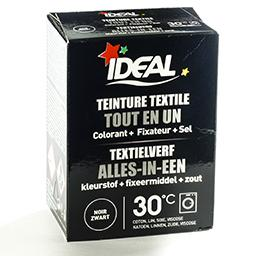 Teinture textile tout en un - noir