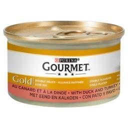 Gourmet gold - aliment pour chat adulte - au canard ...