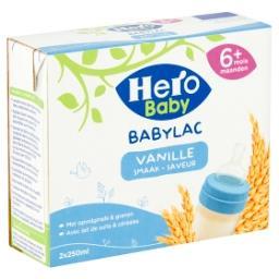 Babylac - lait de suite avec céréales - saveur vanil...