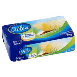 Zero lactose beurre