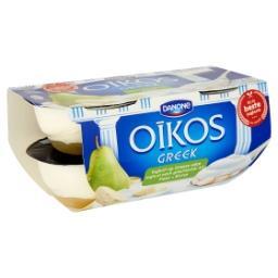 Yaourt à la grecque sur lit de poires