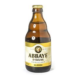 Bière belge d'abbaye blonde de fermentation haute