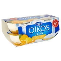 Yaourt à la grecque sur lit d'agrumes
