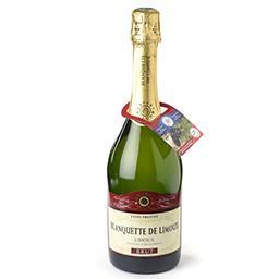 Vin blanc effervescent Cuvée Prestige Brut AOP