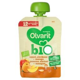 Bio Pomme, Abricot + Mangue 12+ Mois 90 g
