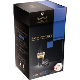 Espresso decaffeinato capsules