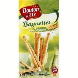 Baguettes au sésame, x2 sachets fraîcheur