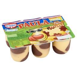 Paula mini pudding vanille avec des taches de chocol...