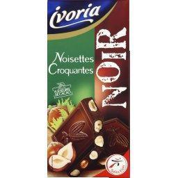 Chocolat noir noisettes croquantes