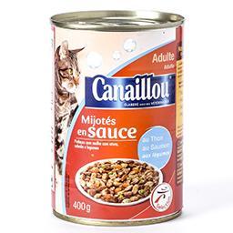 Mijotés en sauce - au thon et au saumon - aux légume...