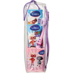 Kit brossage dents kid's arôme bubble-gum enfant 2/6...