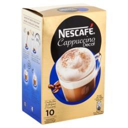 Cappucino décaféiné - café soluble - 10 sachets