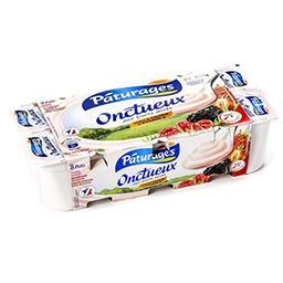 Yaourt onctueux aux fruits mixés (fraise - framboise...