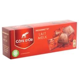 Mignonettes - chocolat au lait - 24 pièces