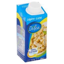 Zero lactose crème light 15%